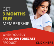 3 month membership when you buy any Snow-Forecast product