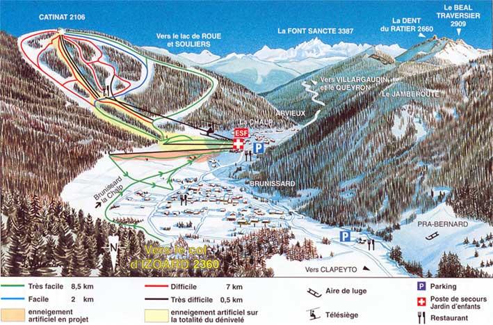 Guide de station de ski de arvieux en queyras carte h bergement vacances de ski arvieux en - Office de tourisme arvieux ...