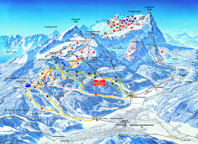 Guide de station de ski de garmisch partenkirchen - Garmisch partenkirchen office du tourisme ...