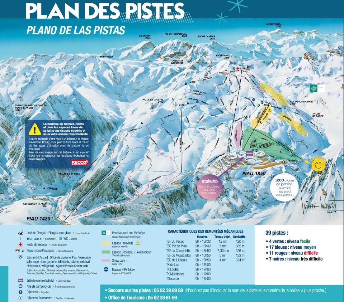 le ski - Page 2 Piau-Engaly_pistemap