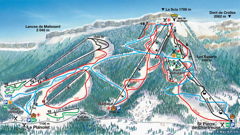 Guide de station de ski de saint pierre de chartreuse - Office tourisme st pierre de chartreuse ...