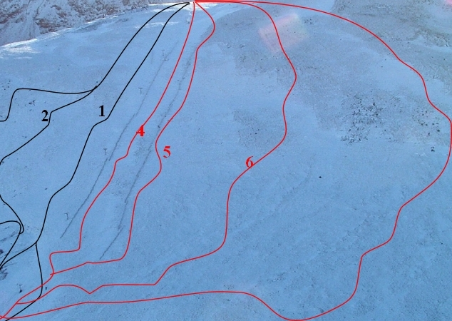 Scafell Pike Piste / Trail Map