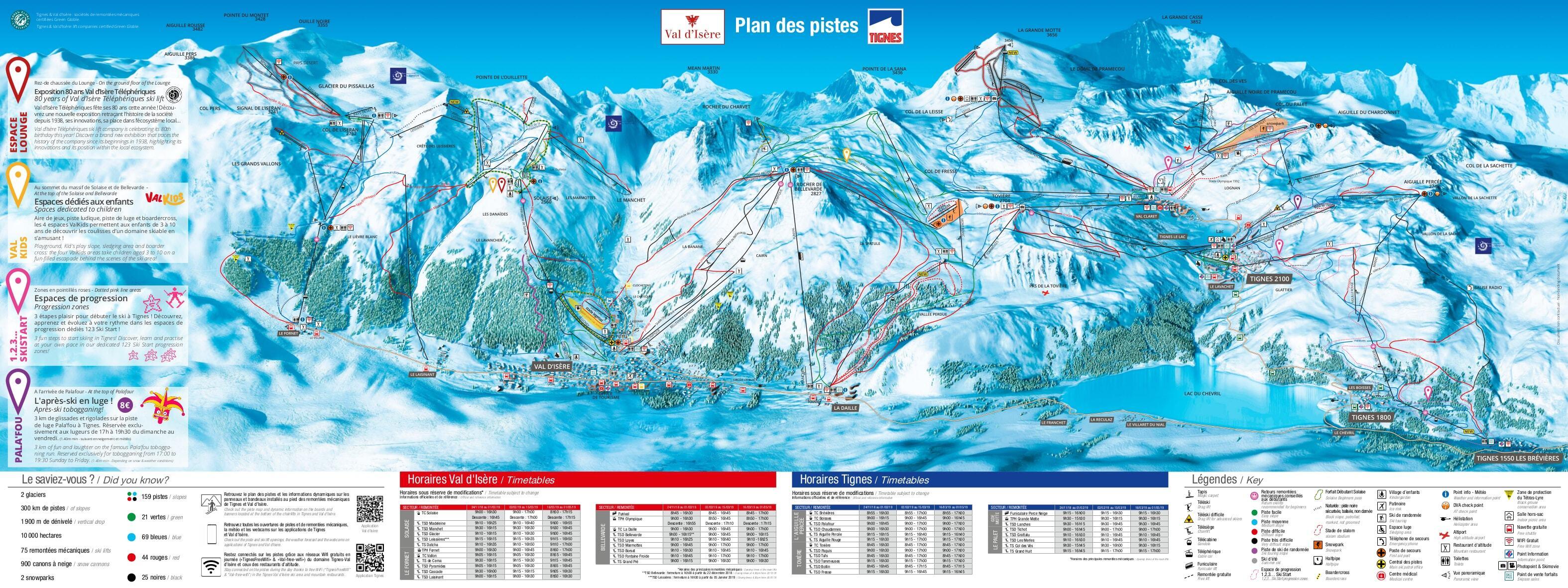 Guide de station de ski de tignes carte h bergement vacances de ski tignes - Office de tourisme de tignes ...
