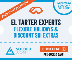Ski Extras & Airport Transfers for El Tarter