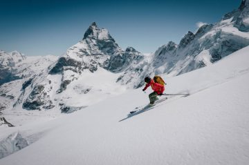 Haute Route Skied in Just 31 Hours Non-Stop